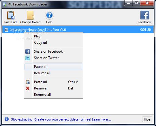 4k Facebook Downloader