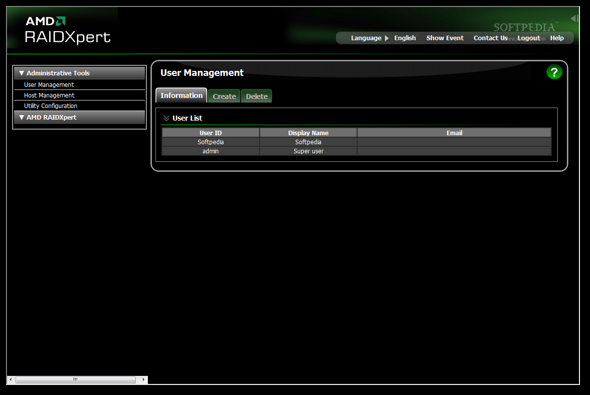 AMD RAIDXpert Utility