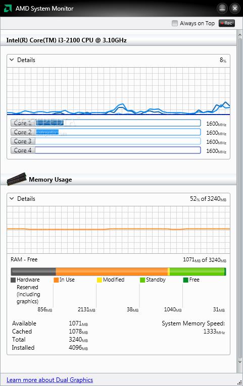AMD System Monitor