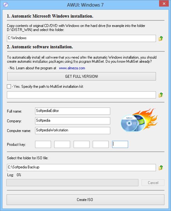 Advanced Windows Unattended Installer