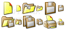 Autumn Icons (Small edition)