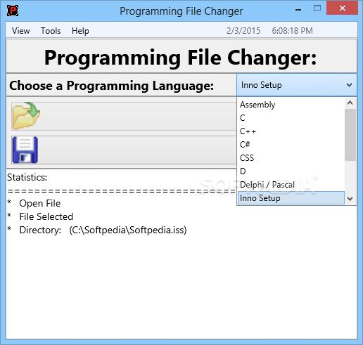 Programming File Changer