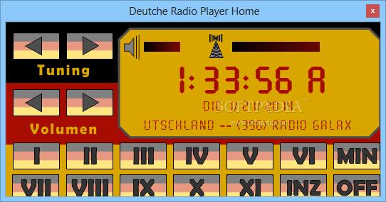 Deutche Radio Player Home