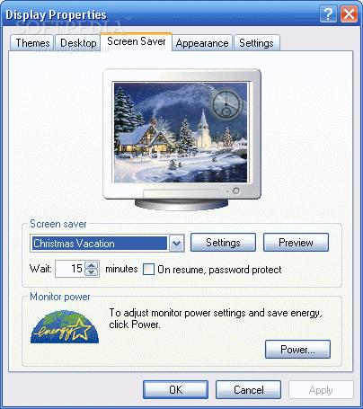 Free Christmas Vacation ScreenSaver