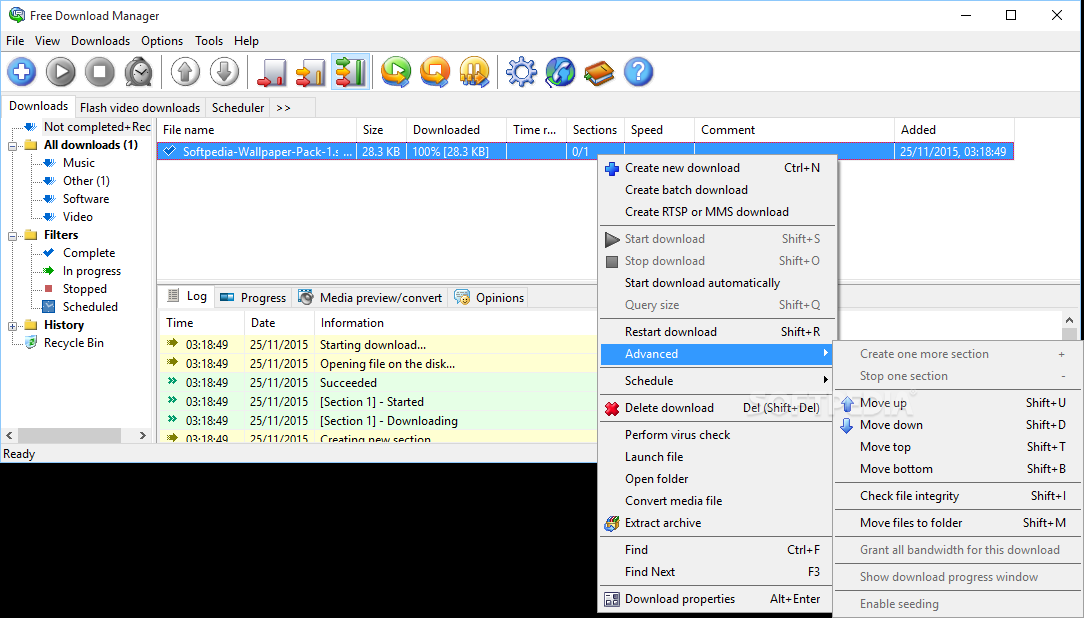 Free Download Manager Lite