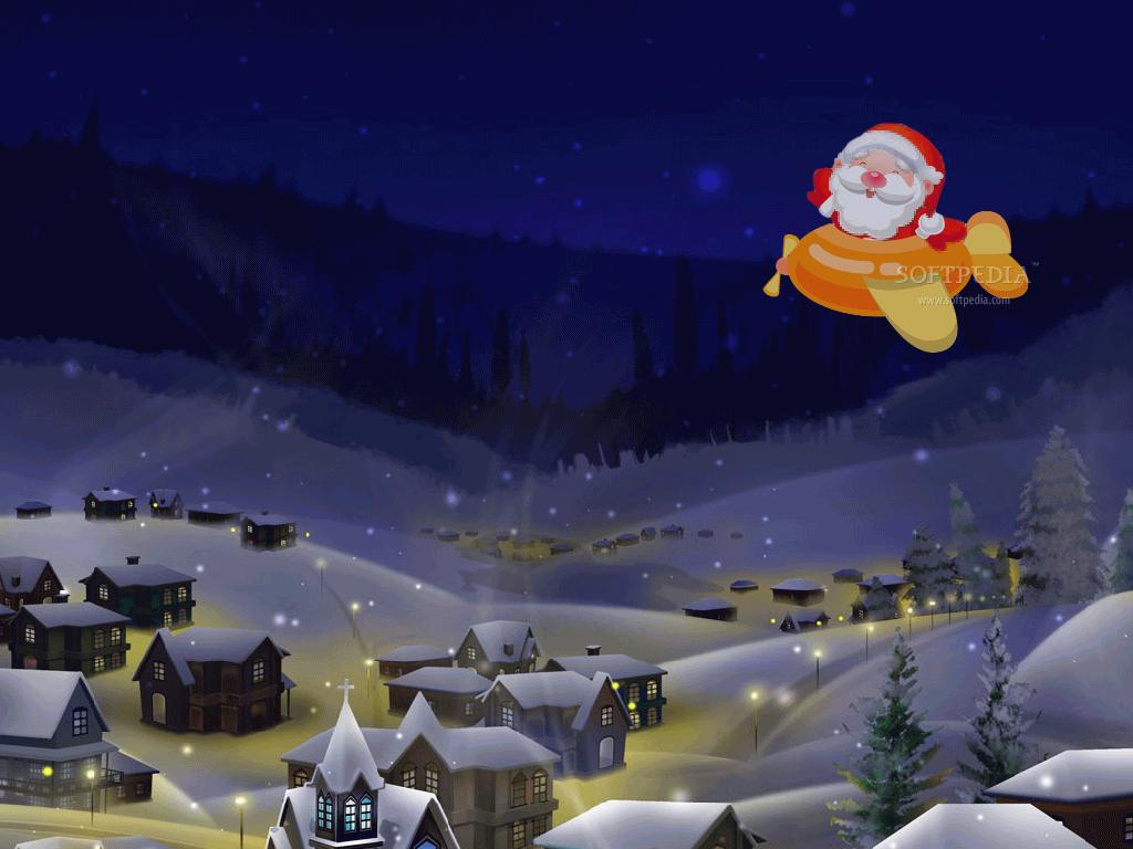 Free Santa Track ScreenSaver