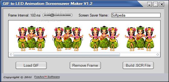 GIF to LED Animation Screensaver Maker