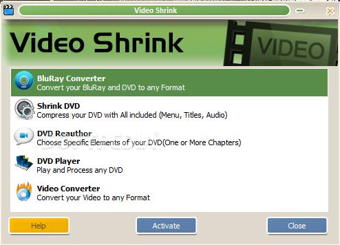 Video Shrink