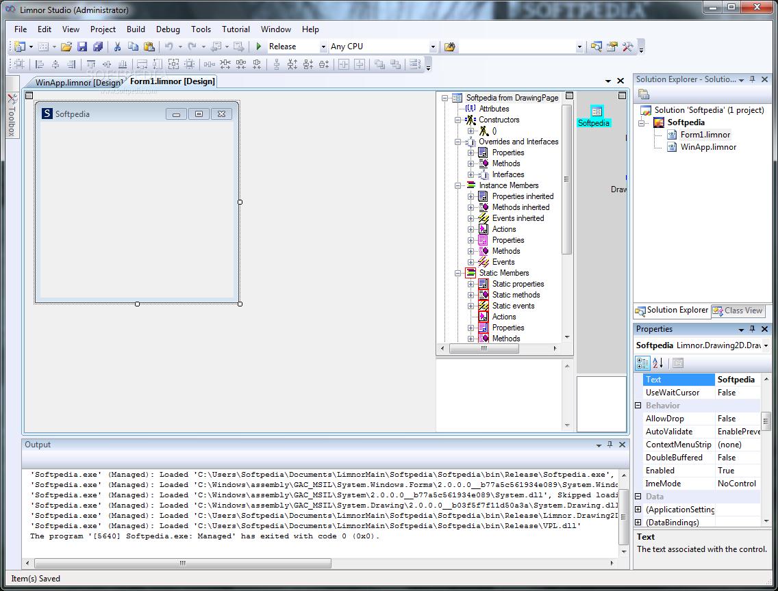 Limnor Codeless Programming System