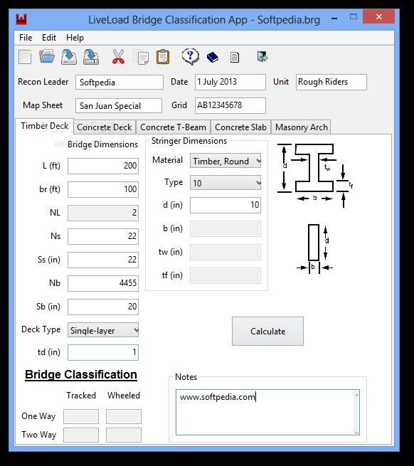 LiveLoad Bridge Classification App