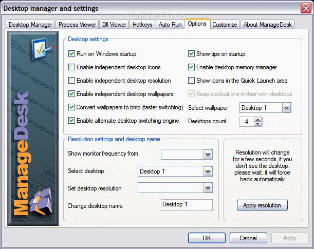ManageDesk Virtual Desktop
