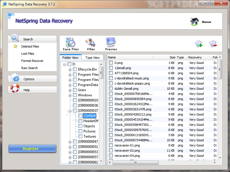 Netspring Data Recovery