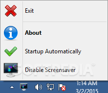 No Screensaver