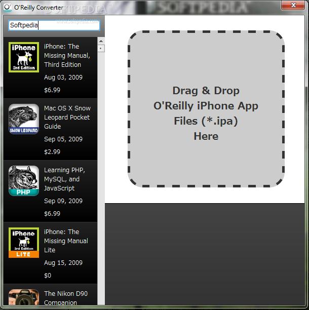 O'Reilly App Converter