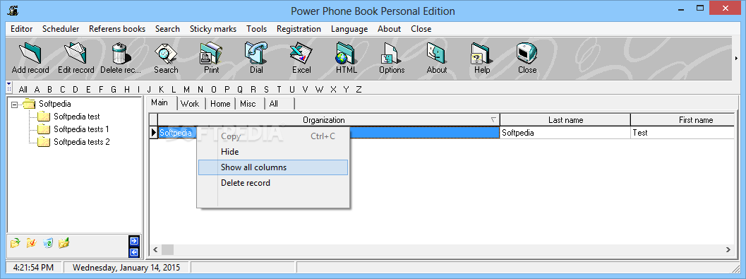 Power Phone Book Personal Edition