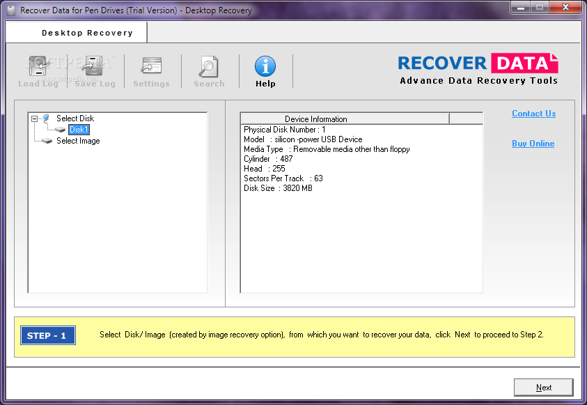 Recover Data for Pen Drives
