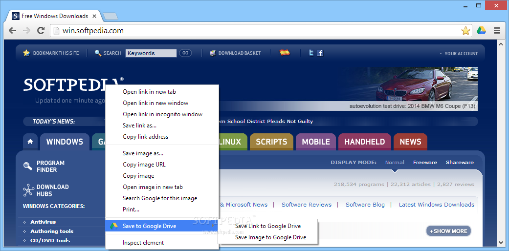 Save to Google Drive for Chrome