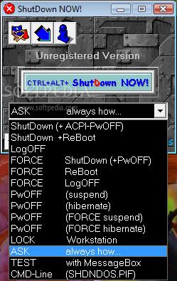 Shutdown NOW!
