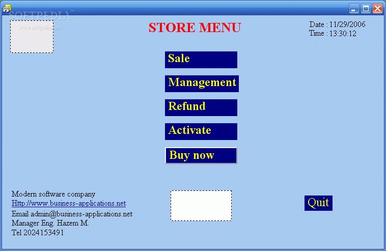 Store multi-cashier plus Web site