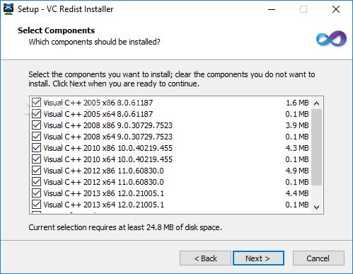 McRip VC Redist Installer