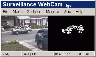 Video Surveillance WebCam Software Basic 4 Camera System