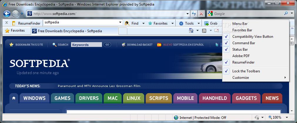 eGrabber ResumeFinder