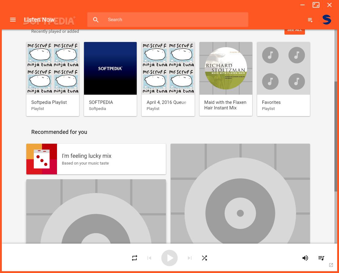 Top 48 Internet Apps Like Google Play Music Desktop Player - Best Alternatives