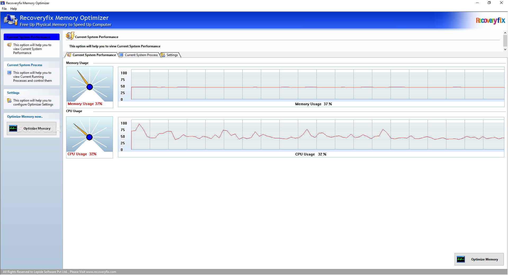 Recoveryfix Memory Optimizer (formerly Chily Memory Optimizer)